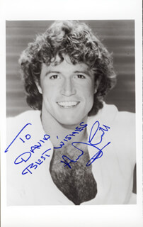 ANDY GIBB - AUTOGRAPHED INSCRIBED PHOTOGRAPH
