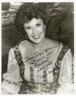 MALA POWERS - AUTOGRAPHED INSCRIBED PHOTOGRAPH