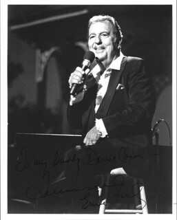 TENNESSEE ERNIE FORD - AUTOGRAPHED INSCRIBED PHOTOGRAPH