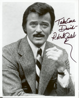 ROBERT GOULET - AUTOGRAPHED INSCRIBED PHOTOGRAPH