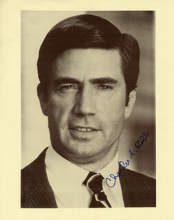 CHARLES S. CHUCK ROBB - AUTOGRAPHED SIGNED PHOTOGRAPH
