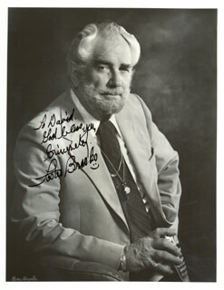 FOSTER BROOKS - AUTOGRAPHED INSCRIBED PHOTOGRAPH