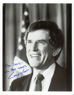 GARY HART - AUTOGRAPHED INSCRIBED PHOTOGRAPH