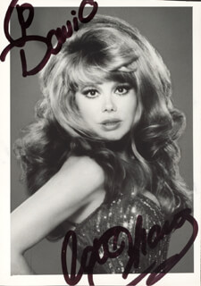 CHARO - AUTOGRAPHED INSCRIBED PHOTOGRAPH