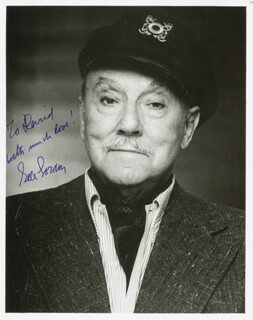GALE GORDON - AUTOGRAPHED INSCRIBED PHOTOGRAPH