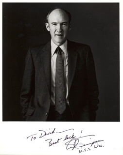 ALAN K. SIMPSON - AUTOGRAPHED INSCRIBED PHOTOGRAPH