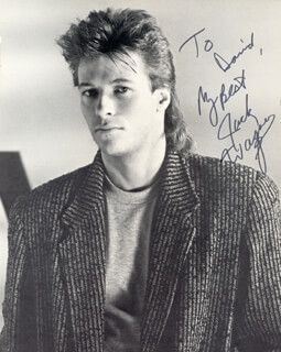 JACK WAGNER - AUTOGRAPHED INSCRIBED PHOTOGRAPH