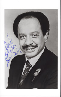 SHERMAN HEMSLEY - AUTOGRAPHED INSCRIBED PHOTOGRAPH