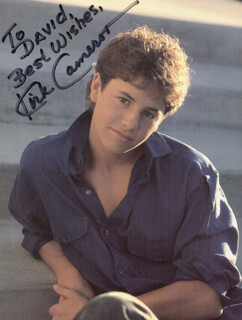 KIRK CAMERON - AUTOGRAPHED INSCRIBED PHOTOGRAPH