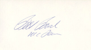 Autographs: WILLIAM E. BILL BROCK III - SIGNATURE(S)