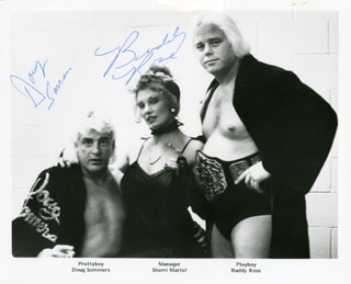 BUDDY PLAYBOY BUDDY ROSE - AUTOGRAPHED SIGNED PHOTOGRAPH CO-SIGNED BY: DOUG SOMMERS