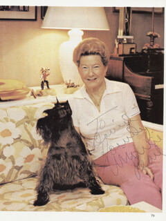 MINNIE PEARL - INSCRIBED MAGAZINE PHOTO SIGNED
