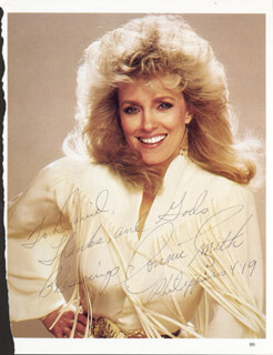 CONNIE SMITH - INSCRIBED MAGAZINE PHOTO SIGNED