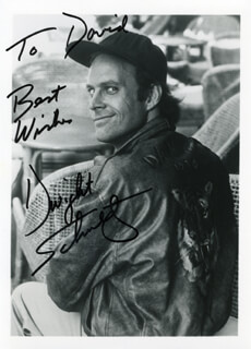 DWIGHT SCHULTZ - AUTOGRAPHED INSCRIBED PHOTOGRAPH