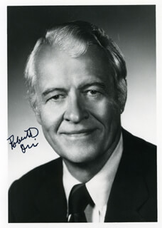 GOVERNOR ROBERT D. ORR - AUTOGRAPHED SIGNED PHOTOGRAPH