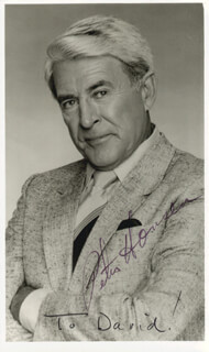 PETER HANSEN - AUTOGRAPHED INSCRIBED PHOTOGRAPH
