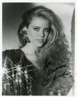 KRISTINA MALANDRO WAGNER - AUTOGRAPHED SIGNED PHOTOGRAPH