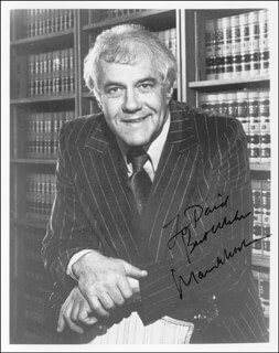 MARVIN MITCHELSON - AUTOGRAPHED INSCRIBED PHOTOGRAPH