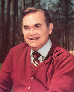 GEORGE C. WALLACE - AUTOGRAPHED SIGNED PHOTOGRAPH