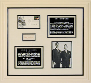GEORGE GERSHWIN - COLLECTION WITH IRA GERSHWIN