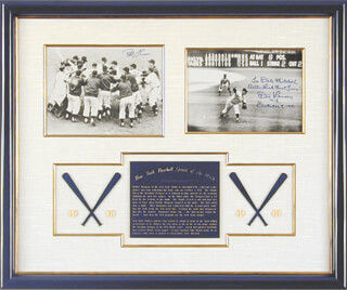 DON LARSEN - COLLECTION WITH BOBBY THOMSON
