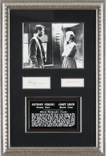 ANTHONY PERKINS - COLLECTION WITH JANET LEIGH