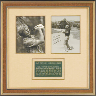 JACK NICKLAUS - COLLECTION WITH ARNOLD PALMER
