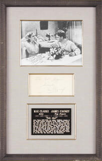 JAMES CAGNEY - COLLECTION WITH MAE CLARKE