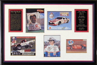 RICHARD PETTY - COLLECTION WITH ROGER MEARS, NEIL BONNETT, MARIO ANDRETTI, TOM SNEVA