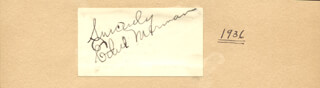 ETHEL MERMAN - AUTOGRAPH SENTIMENT SIGNED