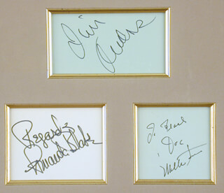 Gunsmoke Tv Cast Memorabilia 90851