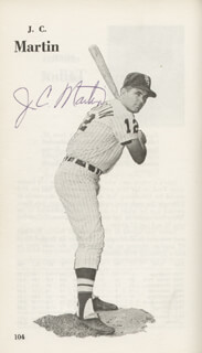 HOYT (JAMES) WILHELM - BOOK SIGNED CO-SIGNED BY: TONY CHICK CUCCINELLO, J. C. MARTIN, PETE WARD, CURT GOWDY