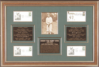 BYRON NELSON - COLLECTION WITH GENE SARAZEN, ART WALL JR., DOUG FORD, SAM SLAMMING SAMMY SNEAD, BOB GOALBY