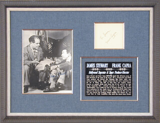FRANK CAPRA - COLLECTION WITH JAMES JIMMY STEWART