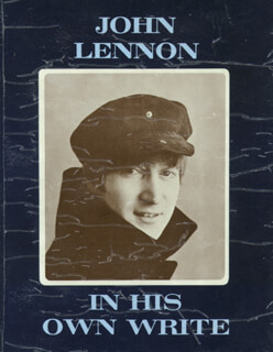 THE BEATLES (JOHN LENNON) - BOOK UNSIGNED  - HFSID 9199