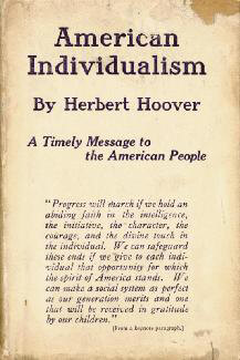 Autographs: PRESIDENT HERBERT HOOVER - INSCRIBED BOOK SIGNED
