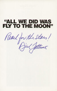 DICK LATTIMER - BOOK SIGNED