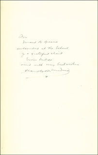 HAROLD R. MEDINA - INSCRIBED BOOK SIGNED