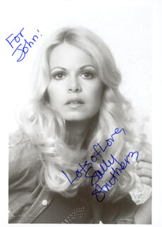 SALLY STRUTHERS - AUTOGRAPHED INSCRIBED PHOTOGRAPH