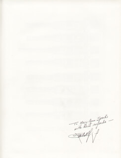 RANDALL GIBSON - INSCRIBED BOOK SIGNED
